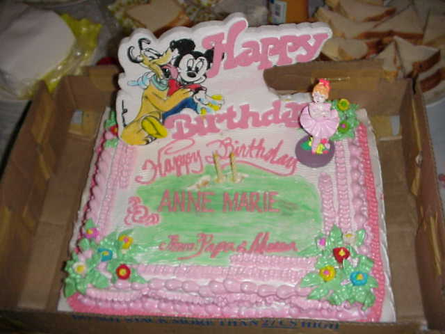 ... had a very big birthday party inthe Philippines for her 2nd birthday